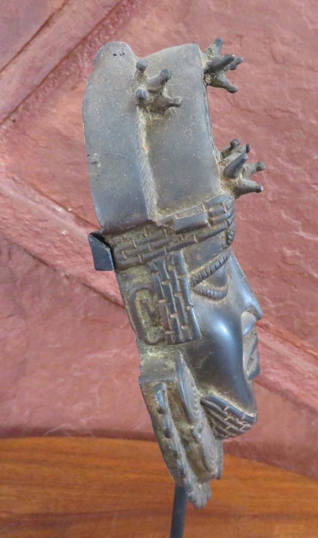 Benin Bronze w/Stand - 6