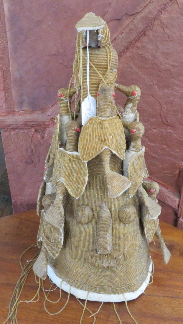 Yoruba Royal Beaded Crown - 6