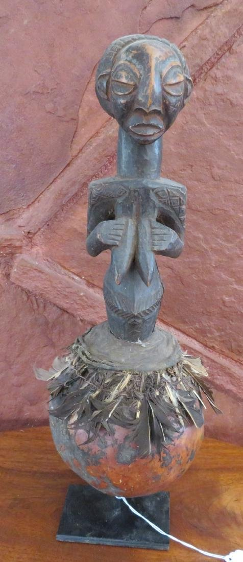 African Luba Fetish Figure
