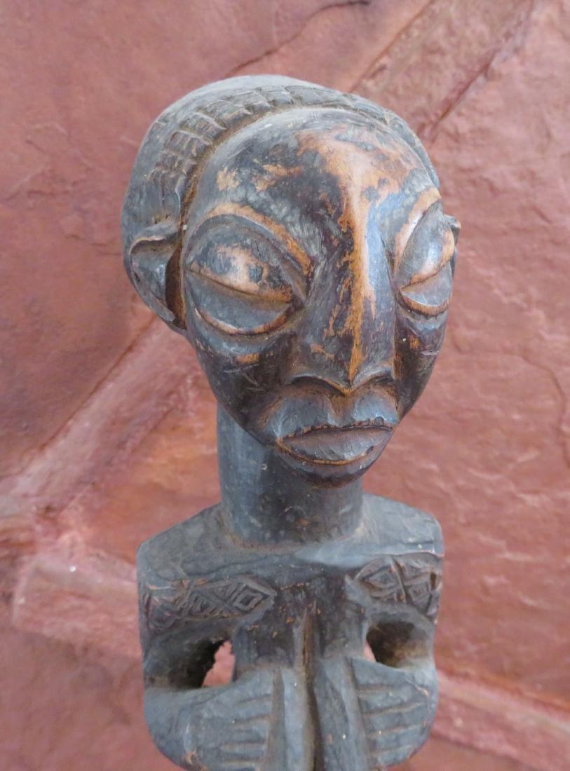 African Luba Fetish Figure - 8
