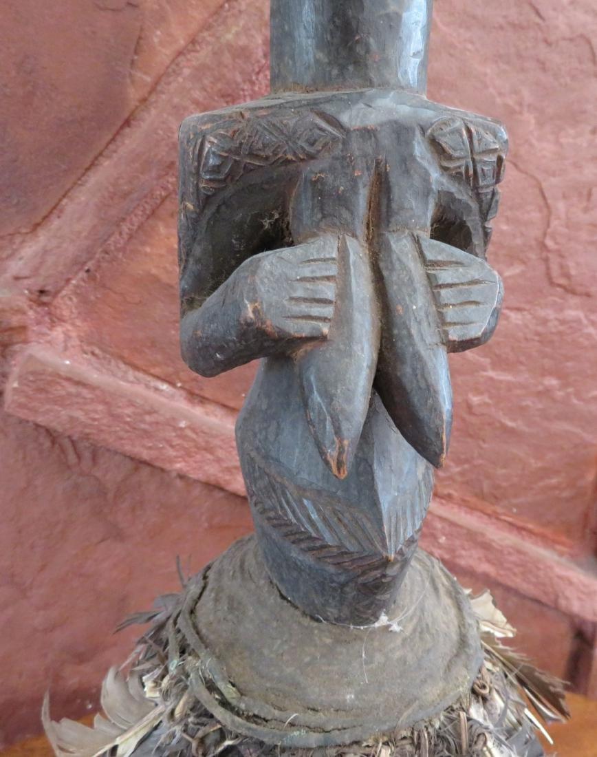 African Luba Fetish Figure - 9