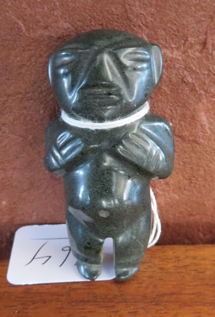Mezcala Jade Figure