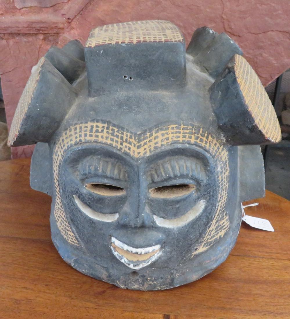 African Helmet Mask