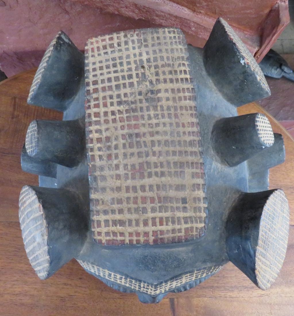 African Helmet Mask - 2