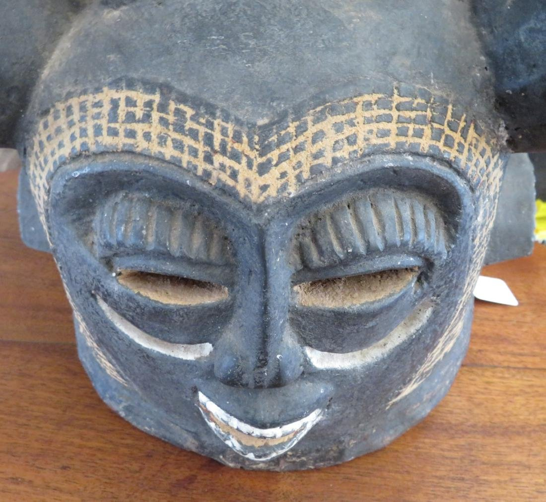 African Helmet Mask - 3