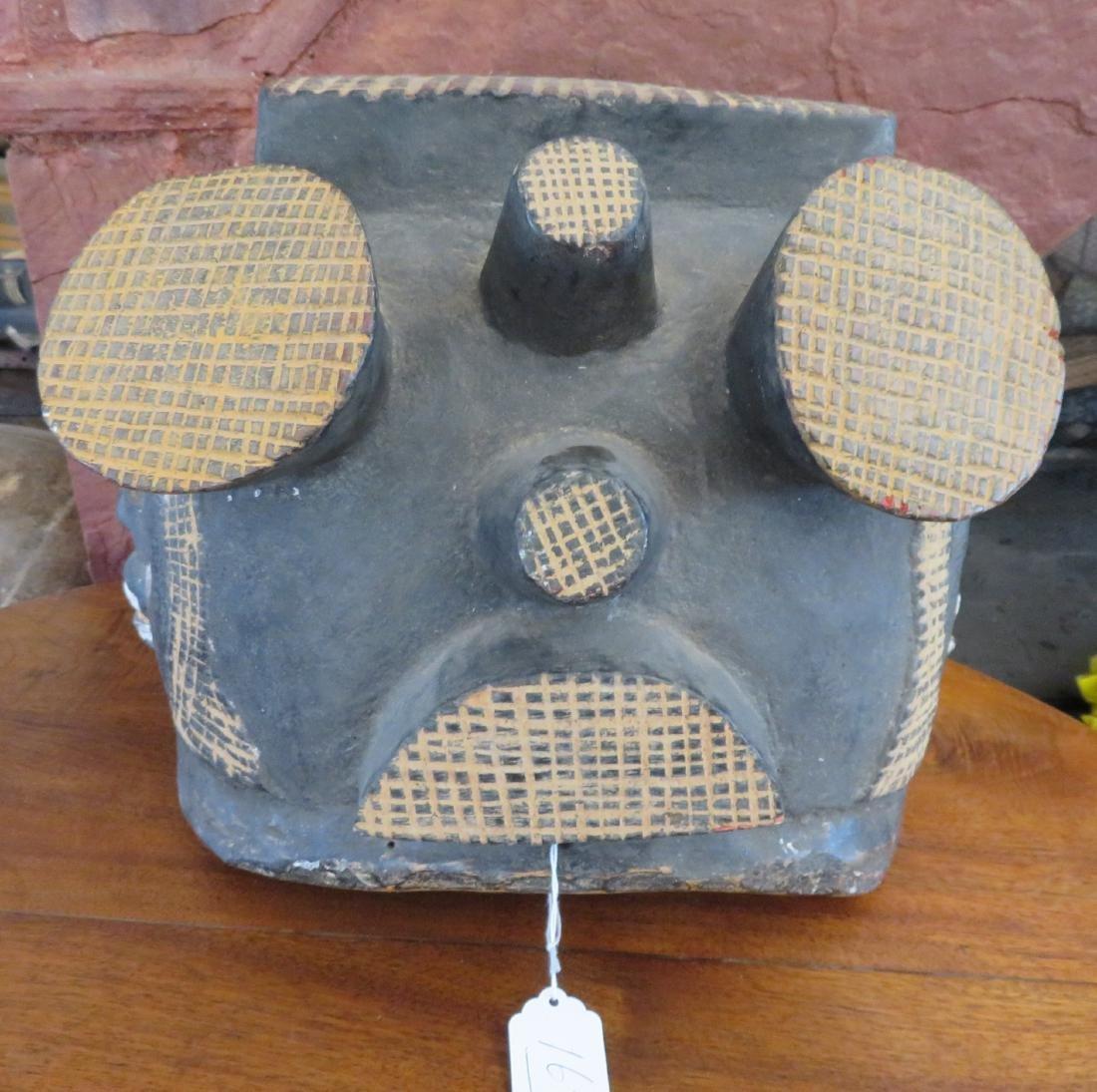 African Helmet Mask - 4