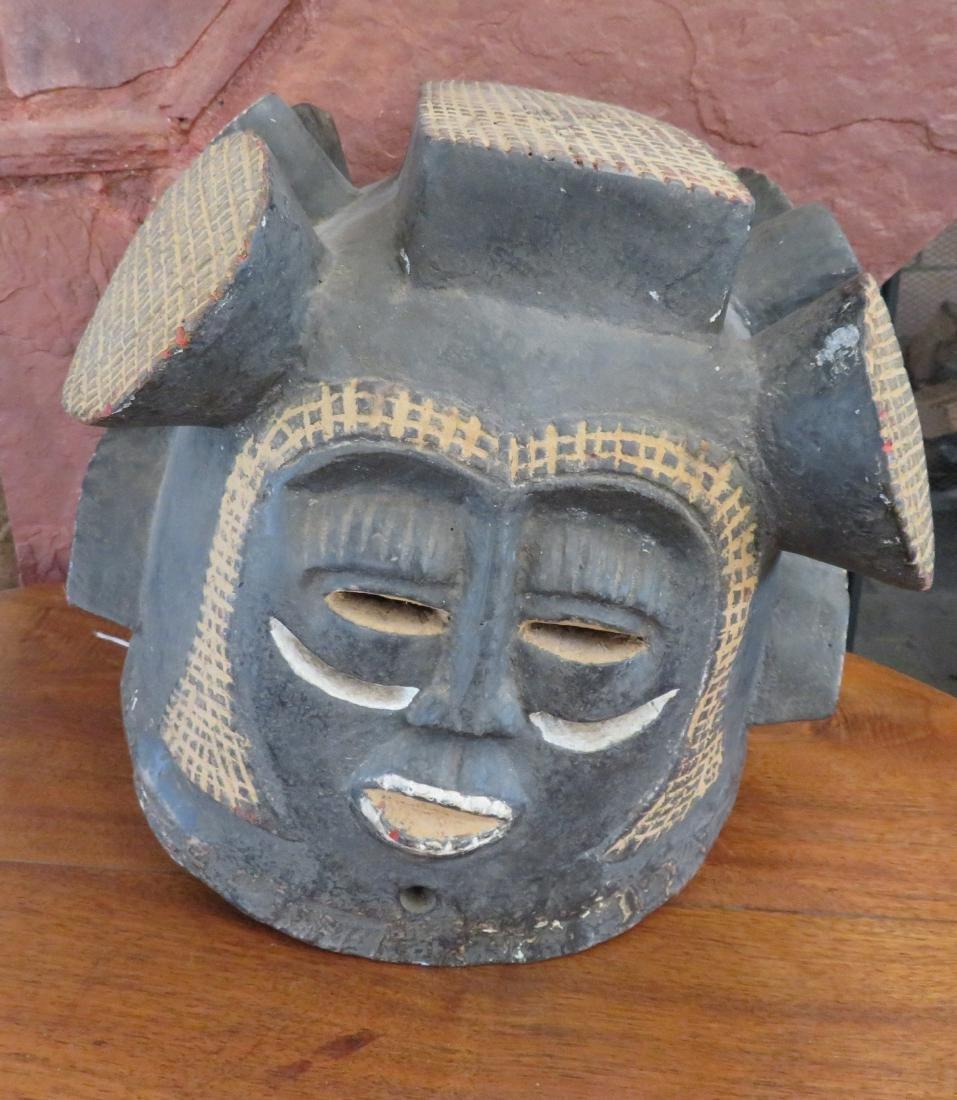African Helmet Mask - 5