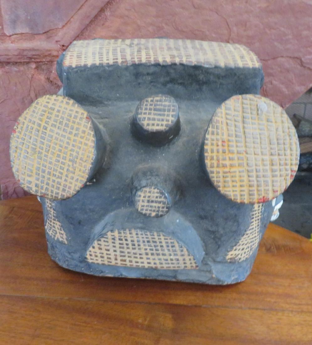 African Helmet Mask - 6