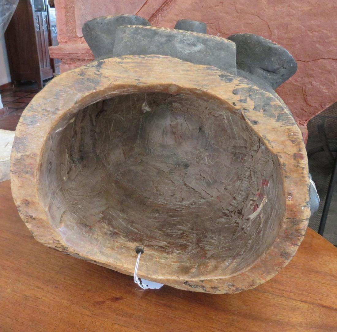 African Helmet Mask - 7
