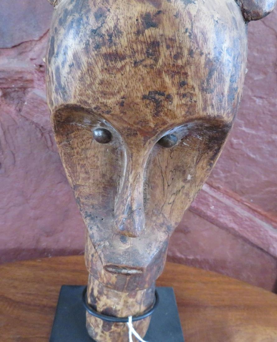 Fang Reliquary Head on Stand - 3