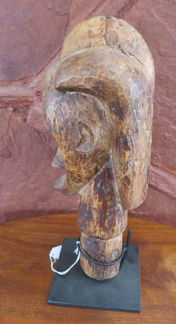 Fang Reliquary Head on Stand - 7