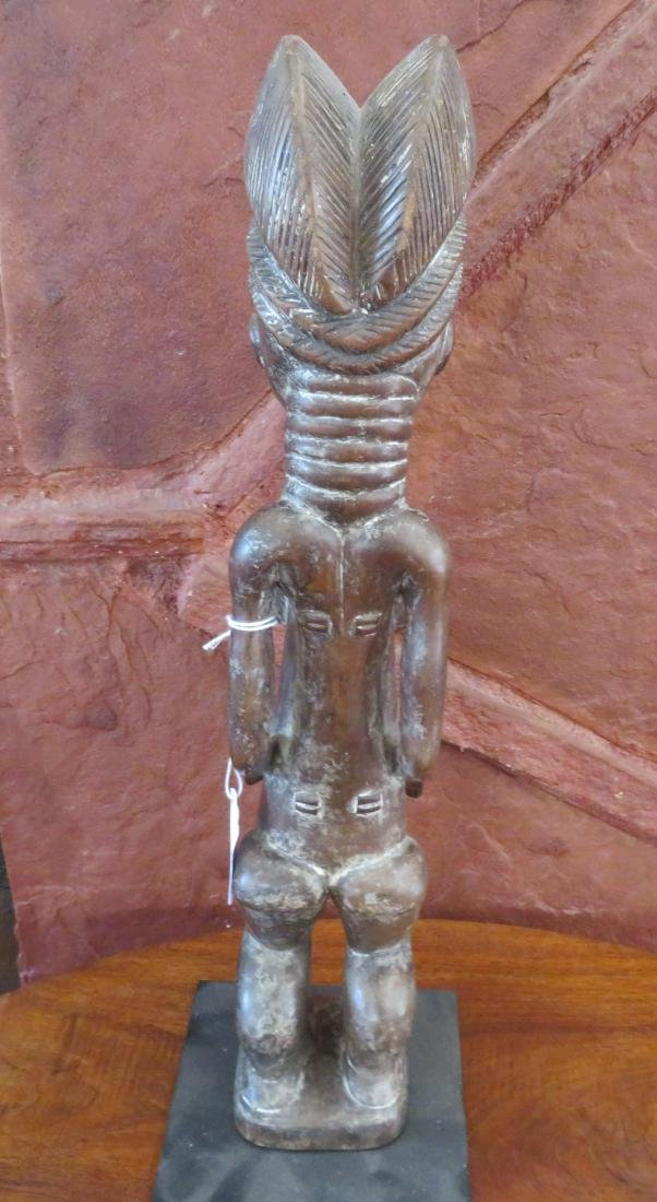 Standing Baule Female Figure on Stand - 8