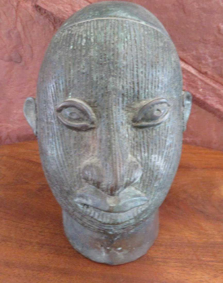 African Ife Bronze w/Report - 2