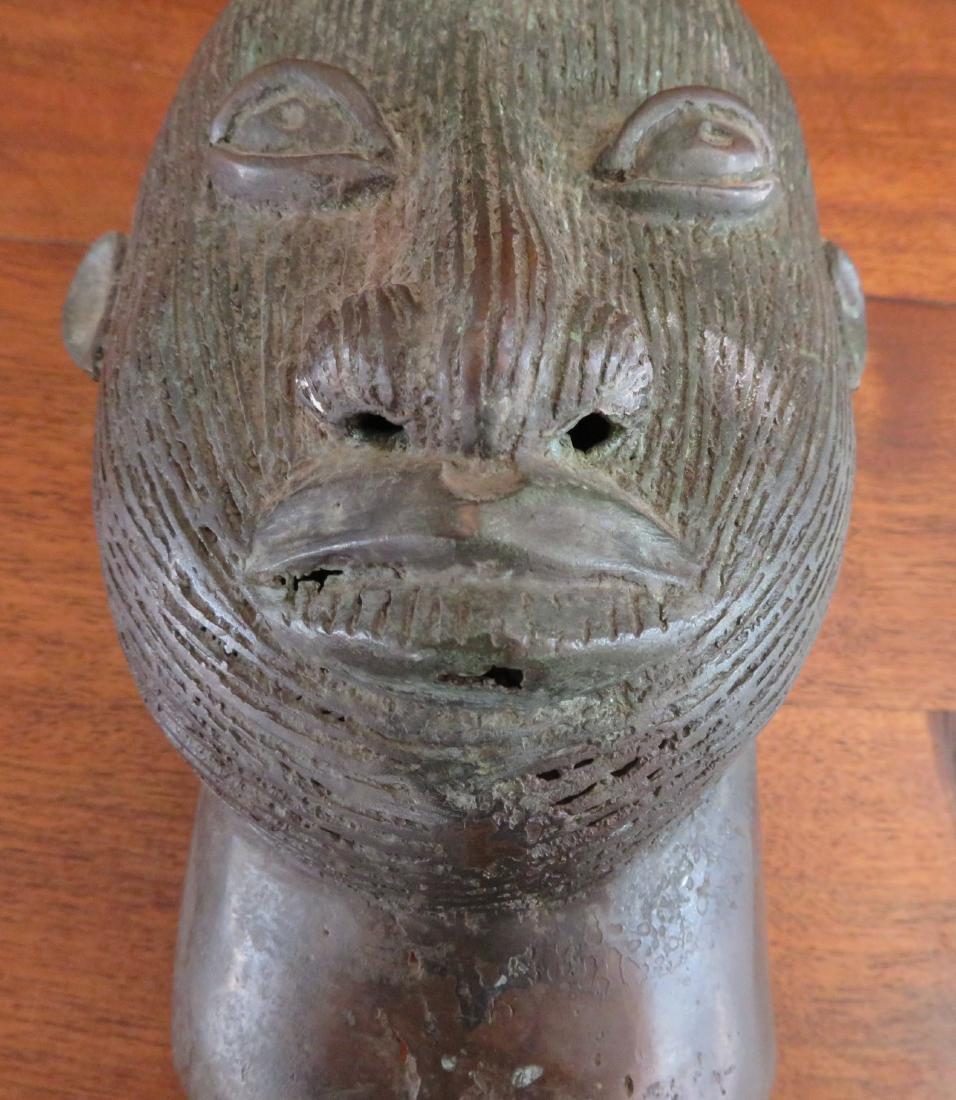 African Ife Bronze w/Report - 6
