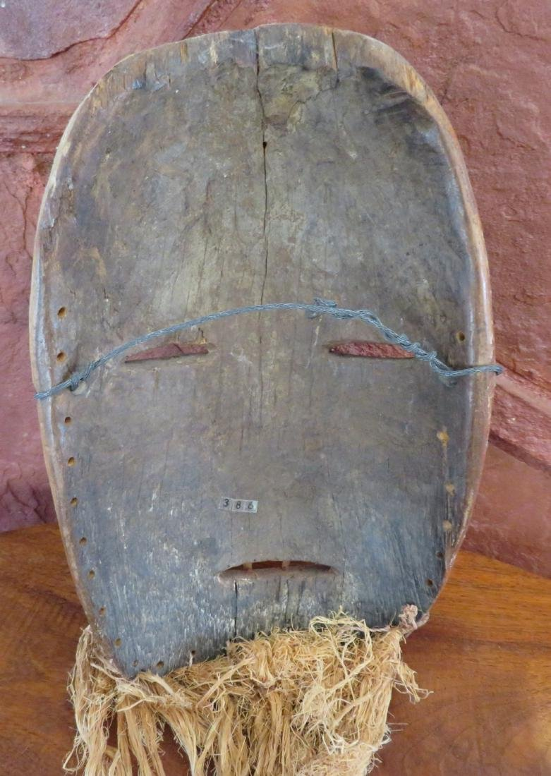 African Wood Mask - 5