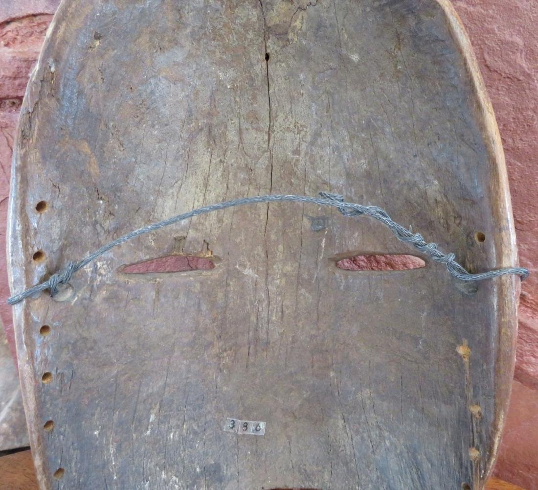 African Wood Mask - 7