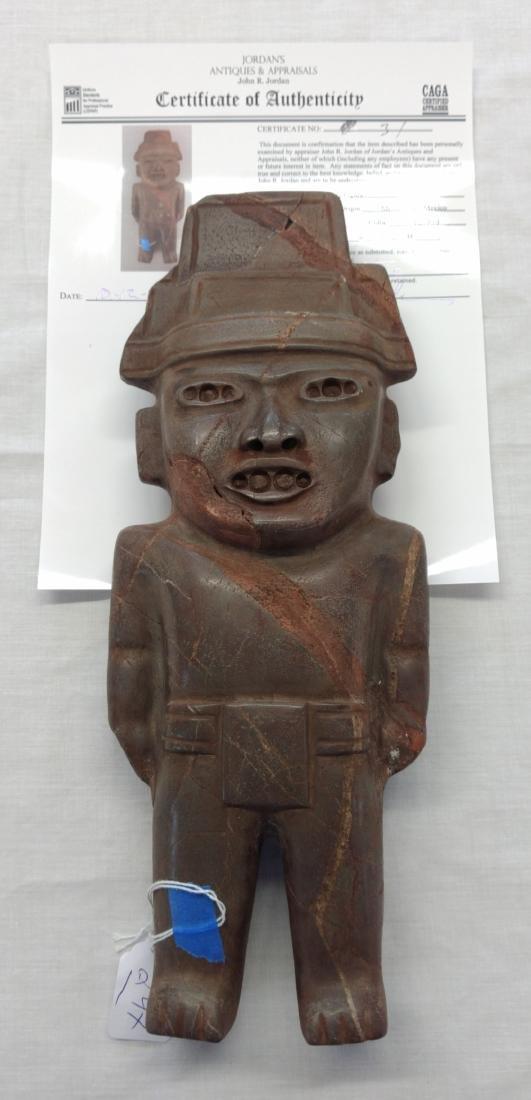 Teotihuacan Stone Figure w/John Jordan COA