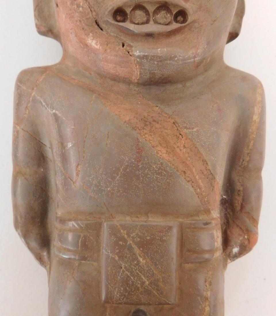 Teotihuacan Stone Figure w/John Jordan COA - 4