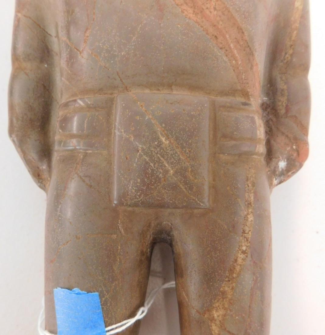 Teotihuacan Stone Figure w/John Jordan COA - 5