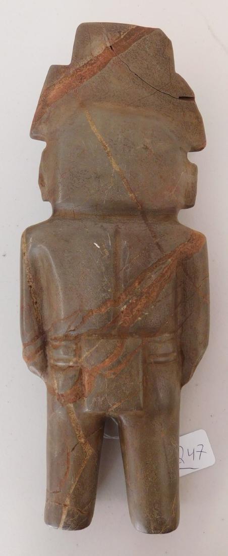 Teotihuacan Stone Figure w/John Jordan COA - 9