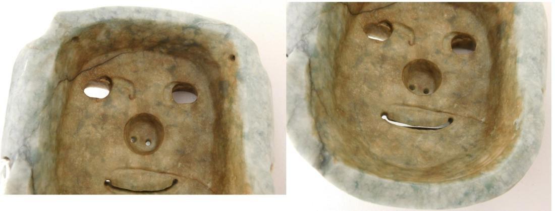 Olmec Jade Mask w/John Jordan COA - 10