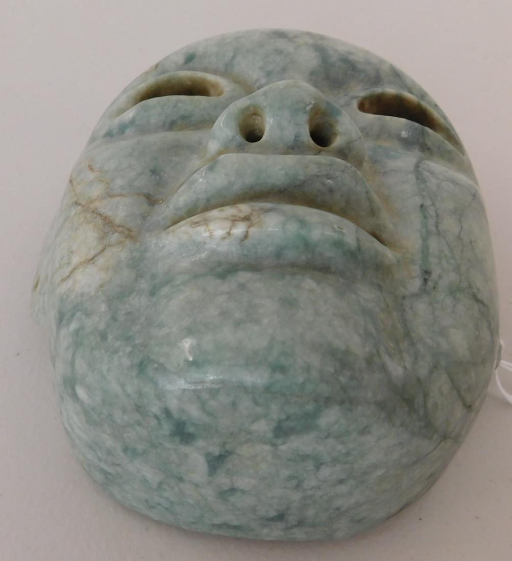 Olmec Jade Mask w/John Jordan COA - 2