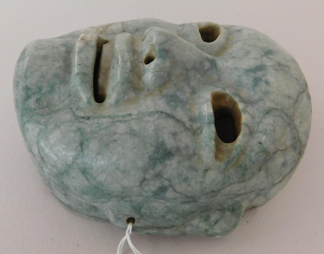 Olmec Jade Mask w/John Jordan COA - 3