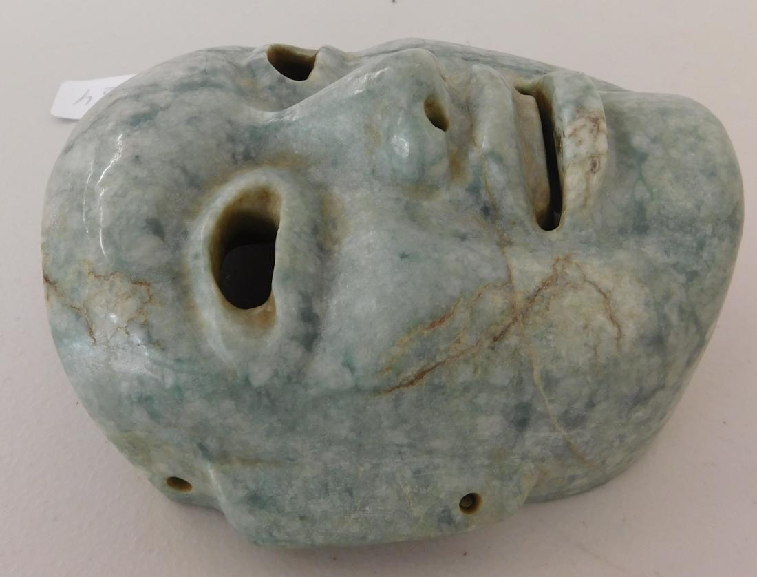 Olmec Jade Mask w/John Jordan COA - 5