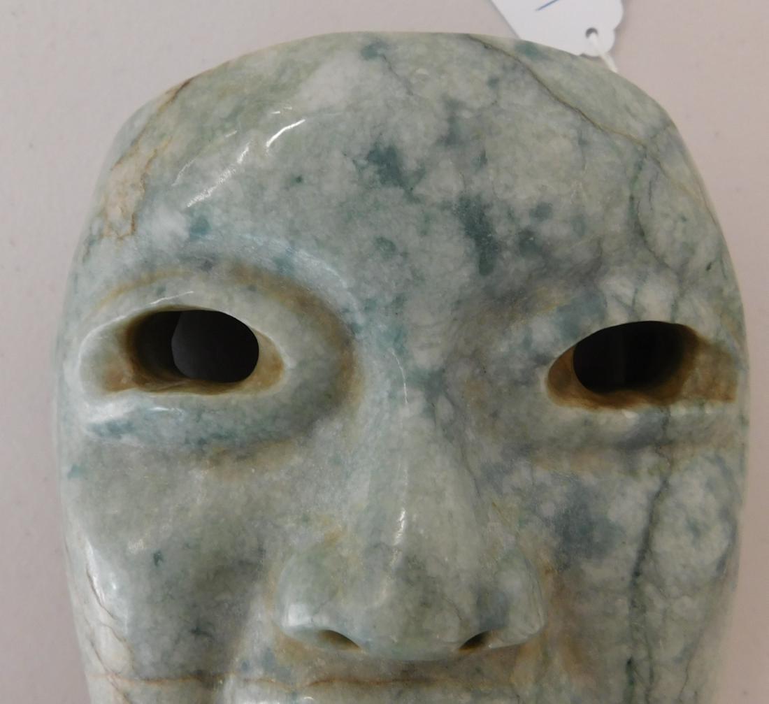 Olmec Jade Mask w/John Jordan COA - 6