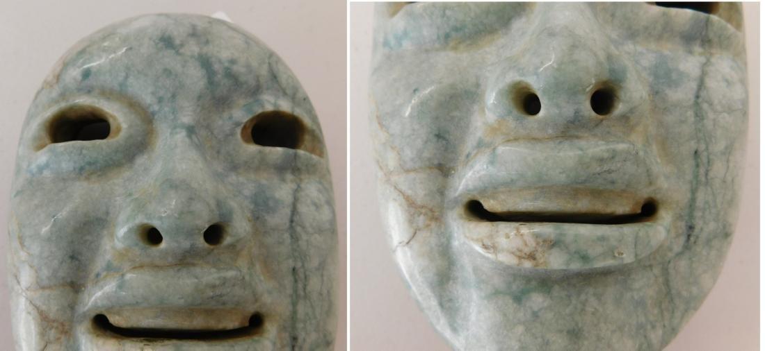 Olmec Jade Mask w/John Jordan COA - 7