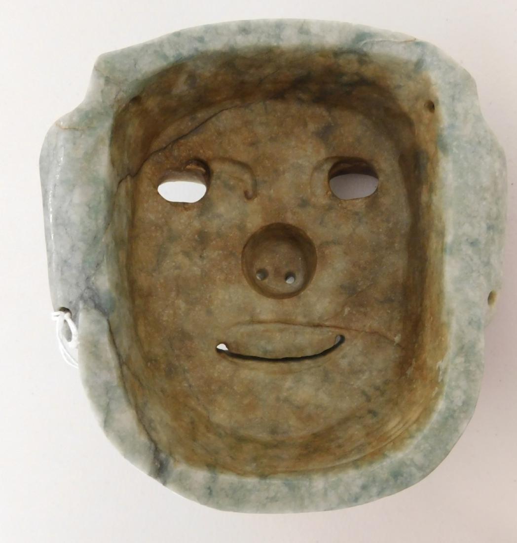 Olmec Jade Mask w/John Jordan COA - 8