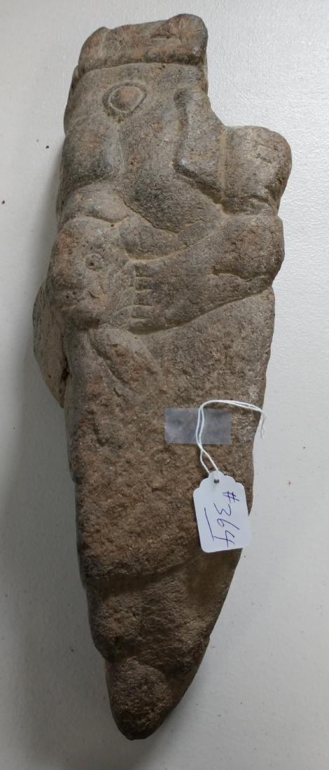 Large Stone Effigy Marker
