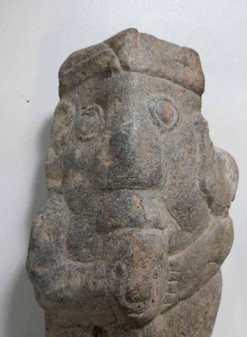 Large Stone Effigy Marker - 3