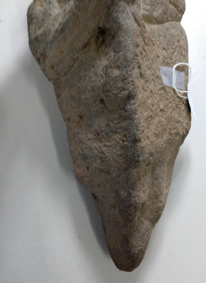 Large Stone Effigy Marker - 5