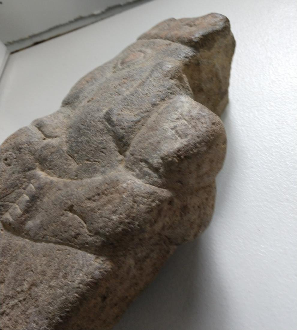 Large Stone Effigy Marker - 8