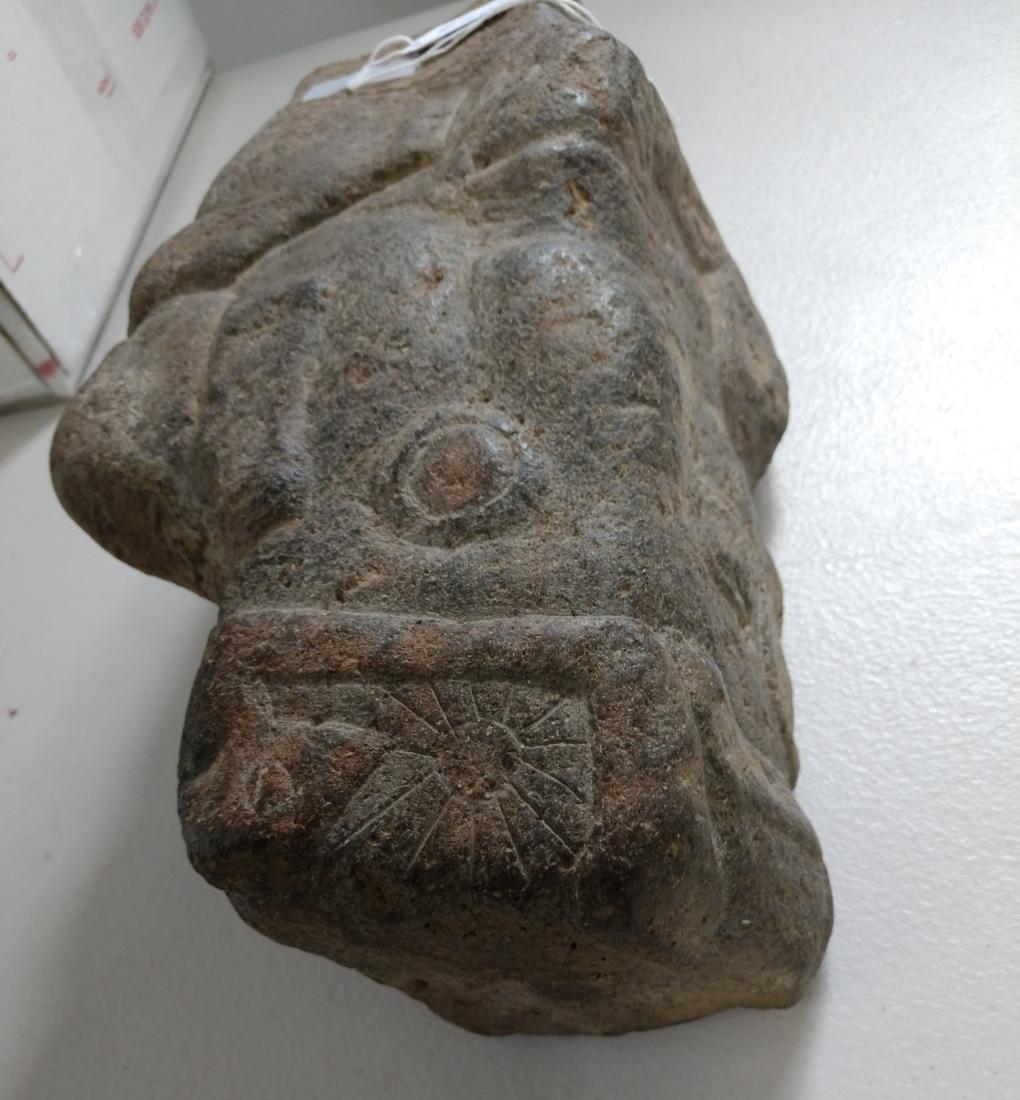 Large Stone Effigy Marker - 9