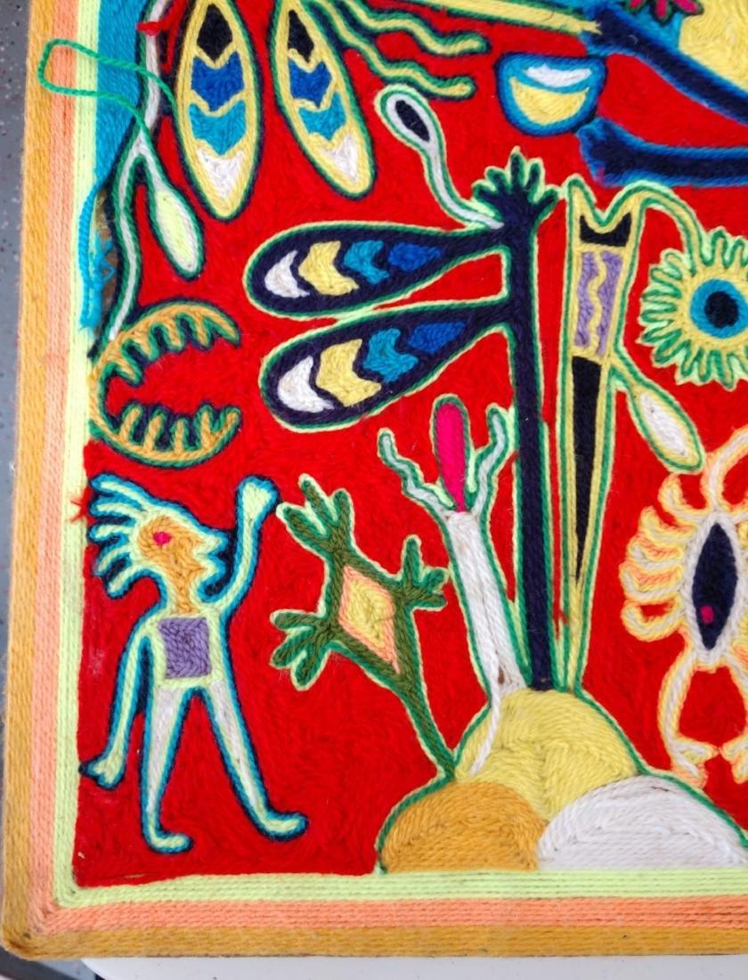 Huichol Yarn Art - 2