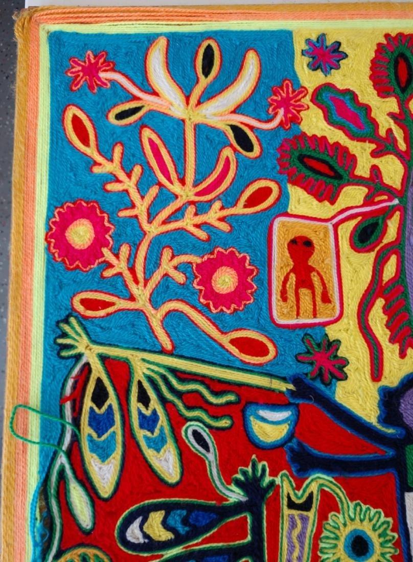 Huichol Yarn Art - 3