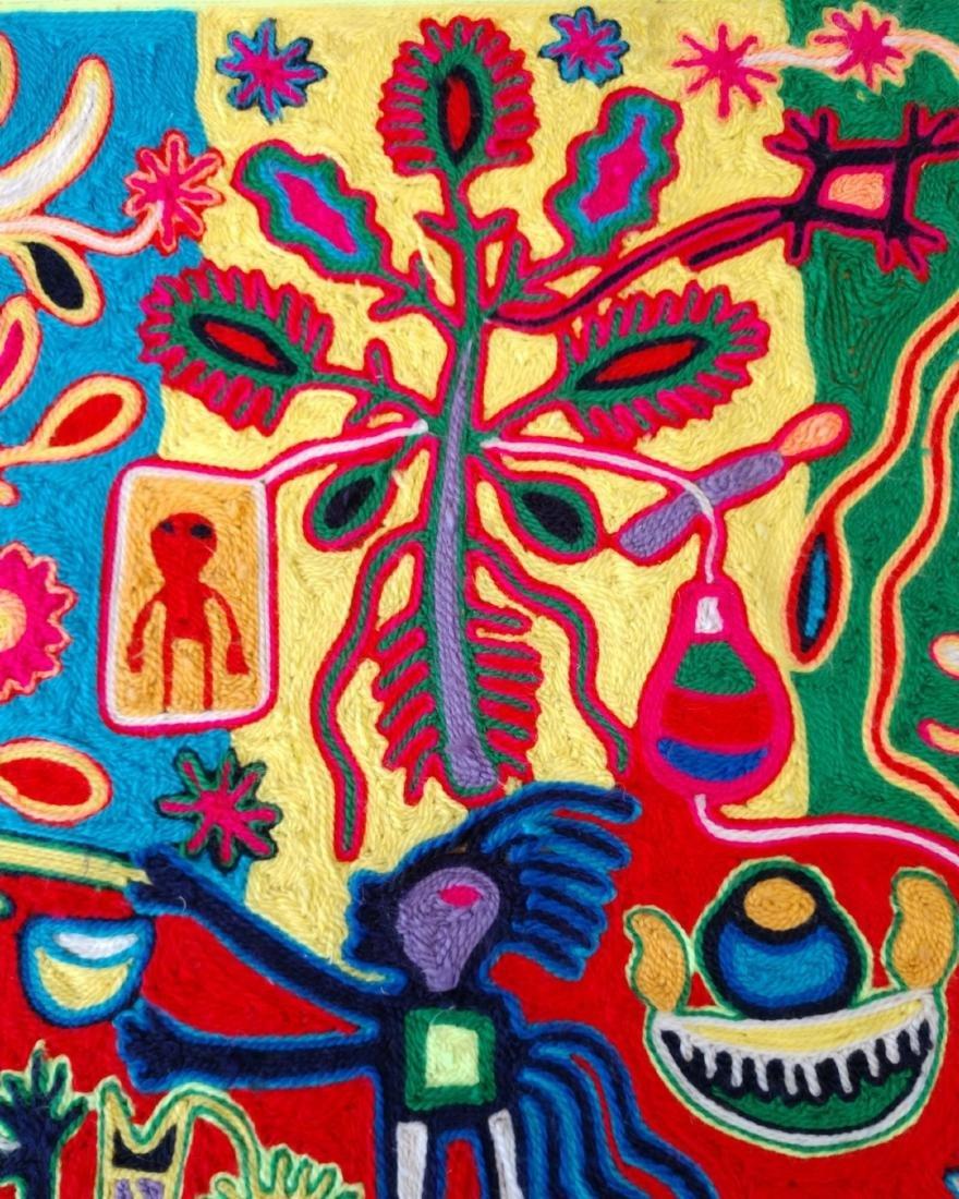 Huichol Yarn Art - 4