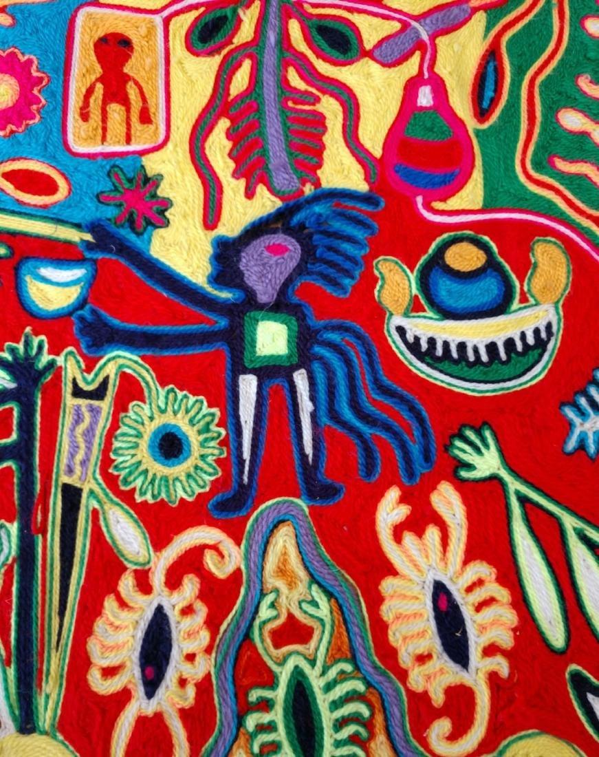 Huichol Yarn Art - 5