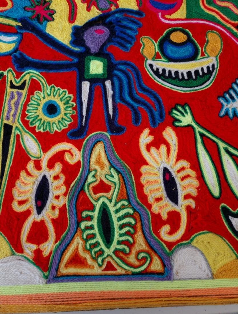 Huichol Yarn Art - 6