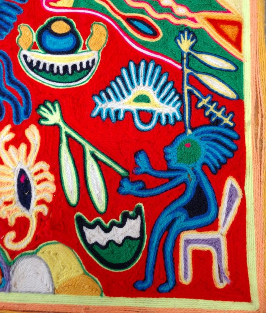 Huichol Yarn Art - 7