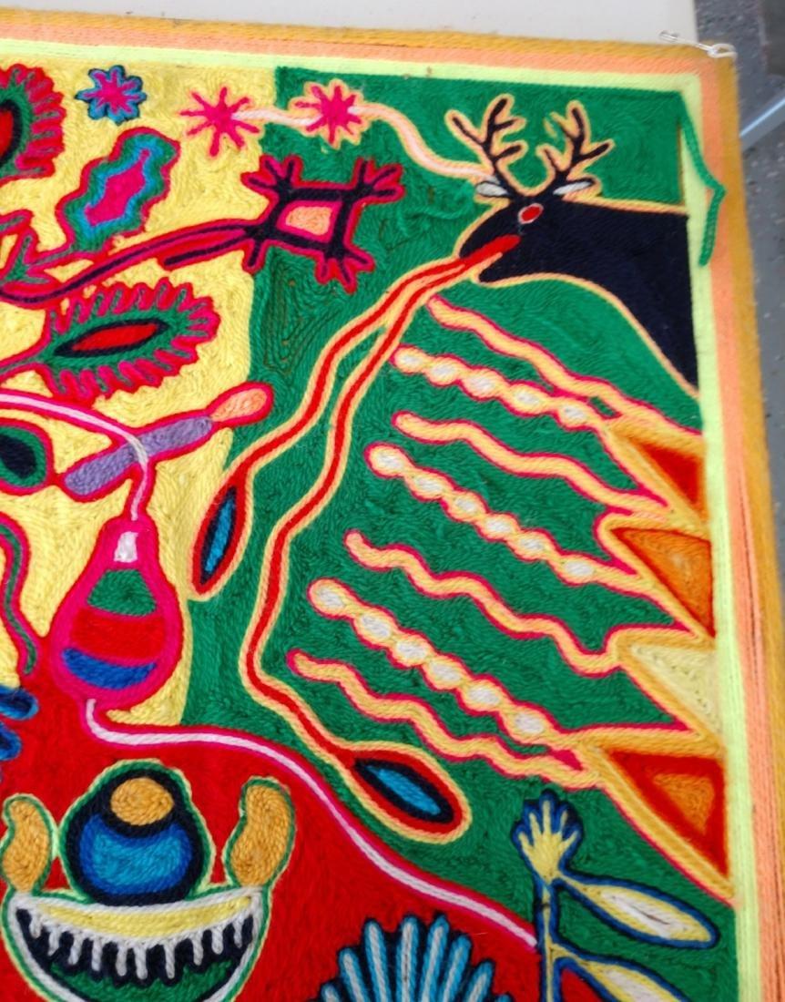 Huichol Yarn Art - 8