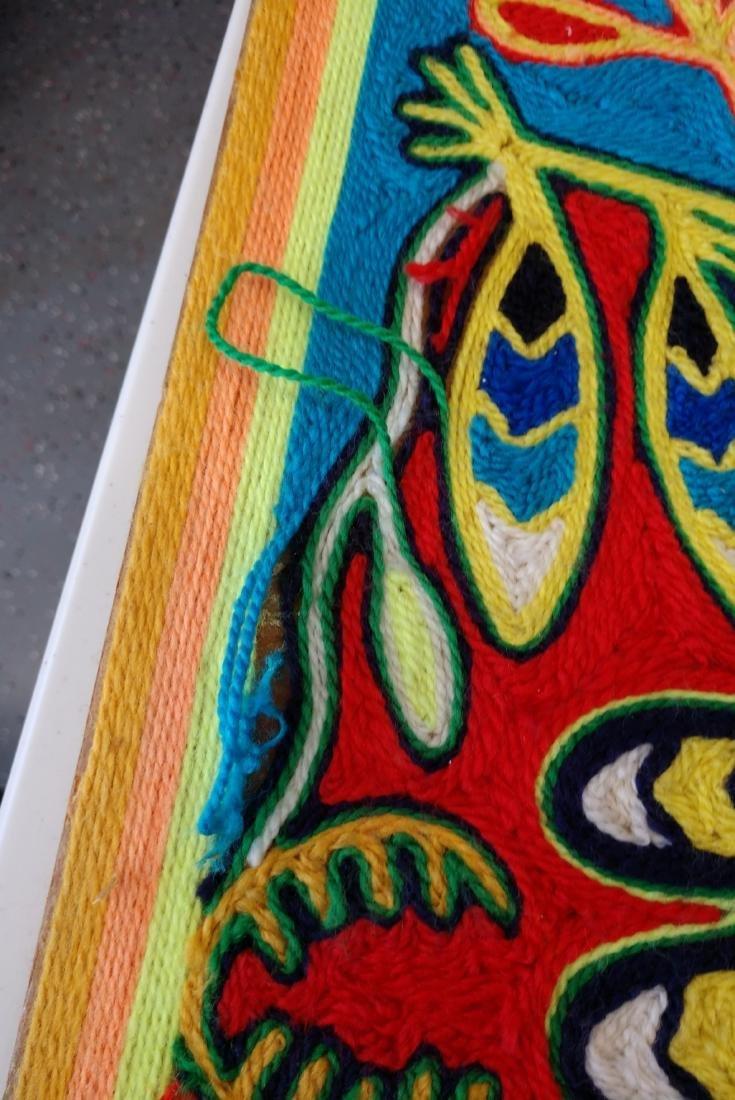 Huichol Yarn Art - 9