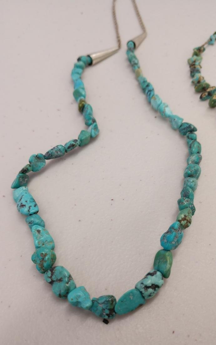 2 Turquoise Necklaces - 2