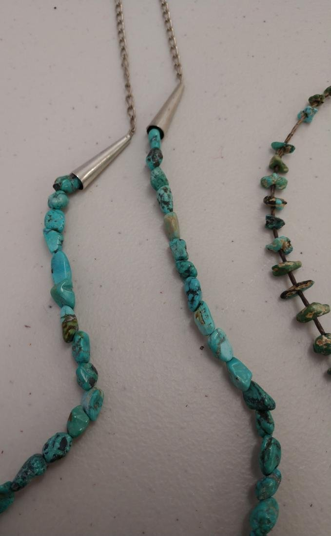 2 Turquoise Necklaces - 3