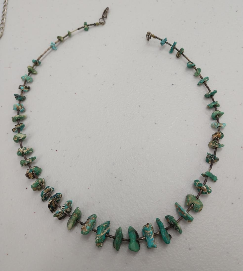 2 Turquoise Necklaces - 6