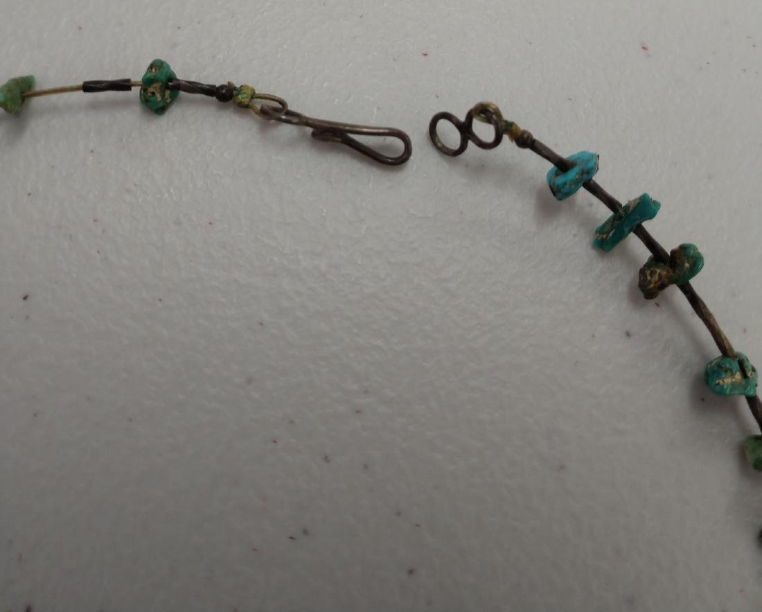2 Turquoise Necklaces - 7