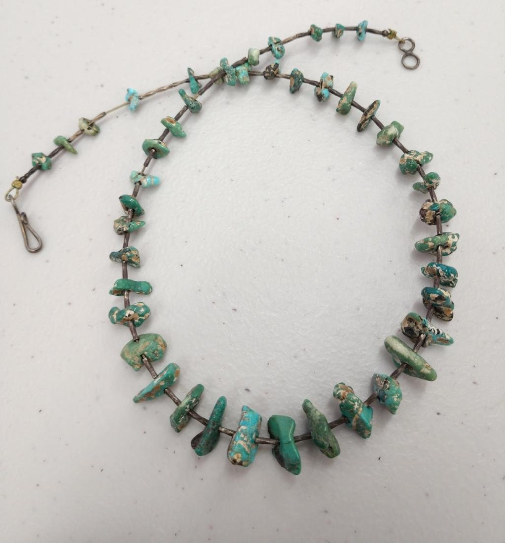 2 Turquoise Necklaces - 8