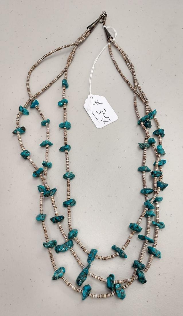 3 Strand Navajo Necklace